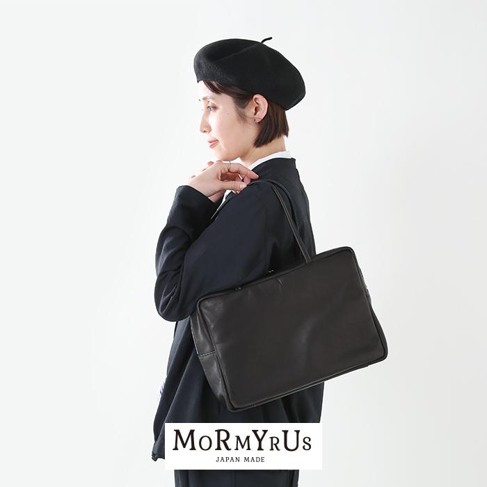 mormyrus(モルミルス)プレスドルースターレザースクエアハンドバッグ m-068