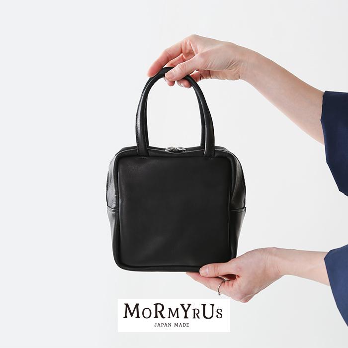 mormyrus(モルミルス)レザーキューブトートバッグ m074