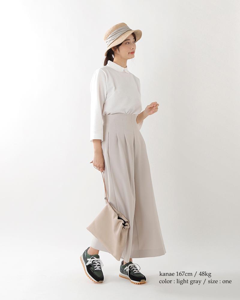 """mature ha.(マチュアーハ)ジュートドレープハット""""jute drape hat middle"""" mjt-010m"""