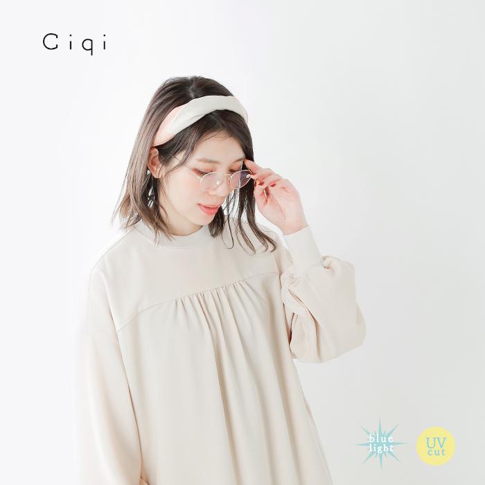 """Ciqi(シキ)ブルーライト・UVカット メタルフレームリーディンググラス""""Natalie"""" natalie"""