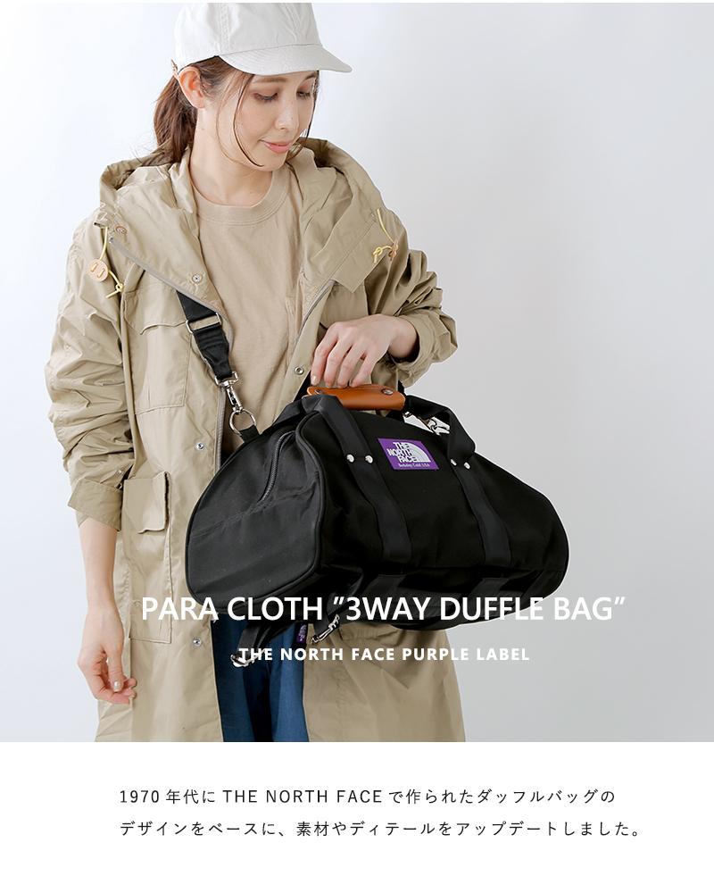 """THE NORTH FACE PURPLE LABEL(ノースフェイスパープルレーベル)パラクロス3WAYダッフルバッグ """"3Way Duffle Bag"""" nn7508n"""