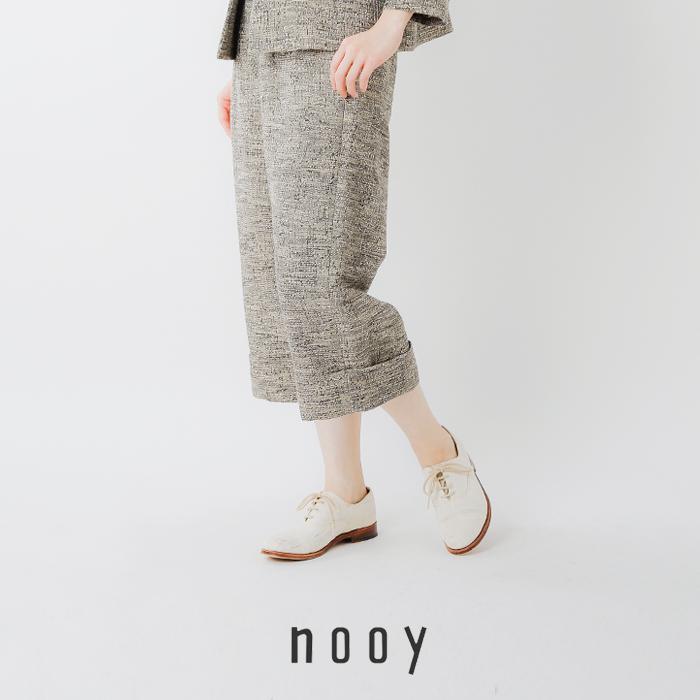 nooy(ヌーイ)イタリアンジャガードランプパンツ npt02ss20