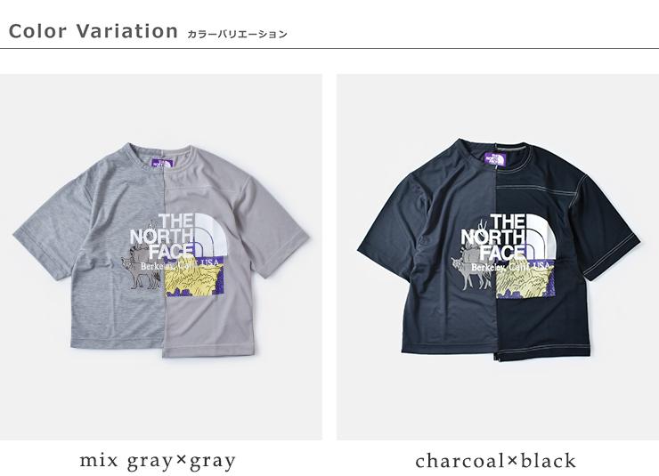 THE NORTH FACE PURPLE LABEL(ノースフェイスパープルレーベル)クレイジーハーフスリーブロゴTシャツ nt3009n