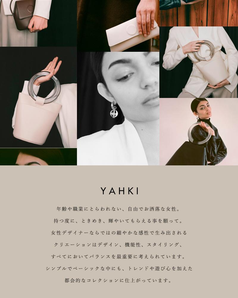 YAHKI(ヤーキ)スムースレザーウォレットショルダーバッグ yh-281