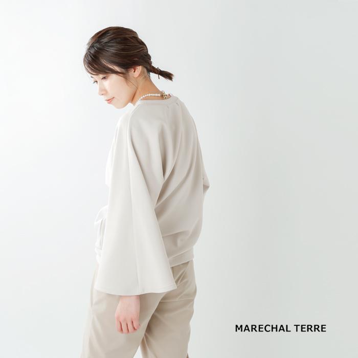MARECHAL TERRE(マルシャルテル)デザインカットプルオーバー zmt201ct335