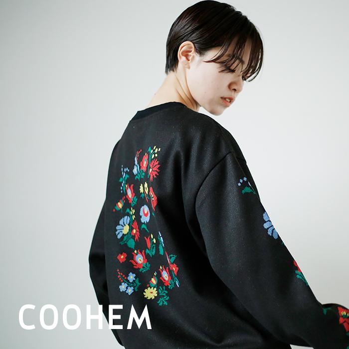 COOHEM(コーへン)フラワージャガードプルオーバー 11-214-009
