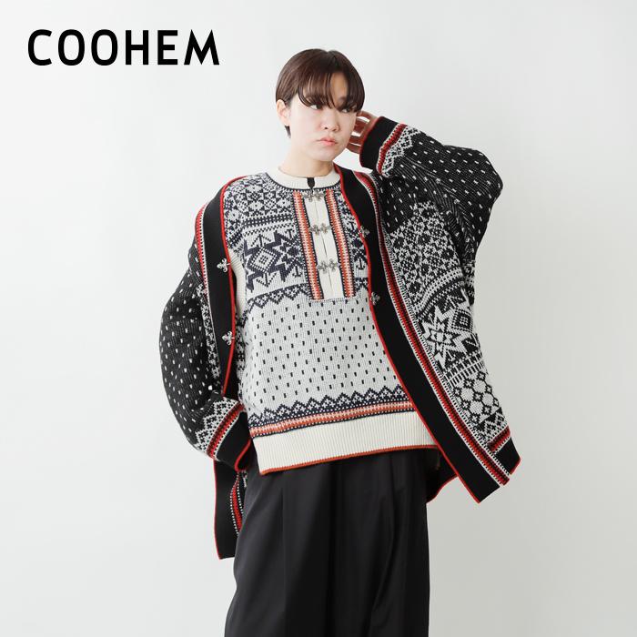 COOHEM(コーへン)ノルウェージャンウールニットベスト 11-214-019