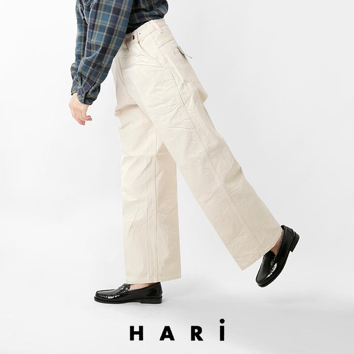 HARi(ハリ)キャンバスワイドストレートランチパンツ200133