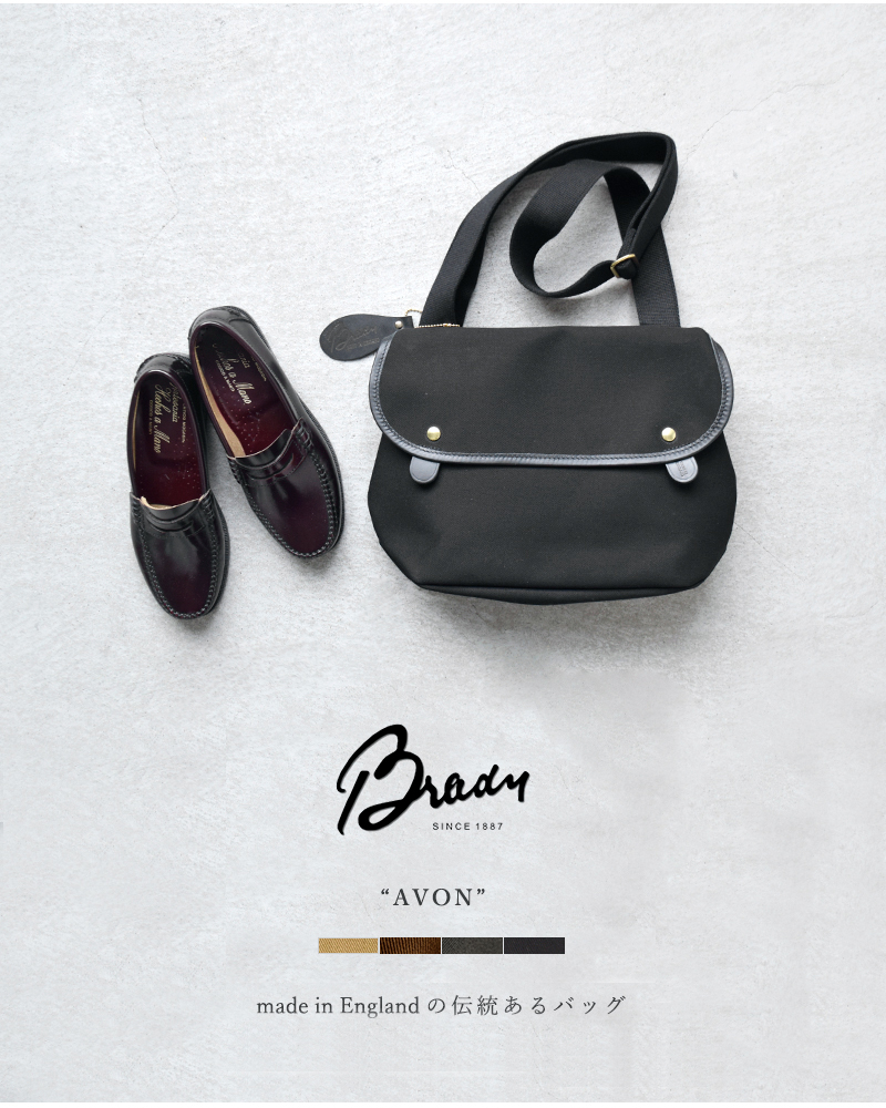 """Brady(ブレディ)ツイルショルダーバッグ""""AVON"""" avon-bag"""