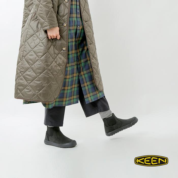 """KEEN(キーン)軽量耐水エレナチェルシーサイドゴアブーツ""""ELENA CHELSEA"""" elena-chelsea"""