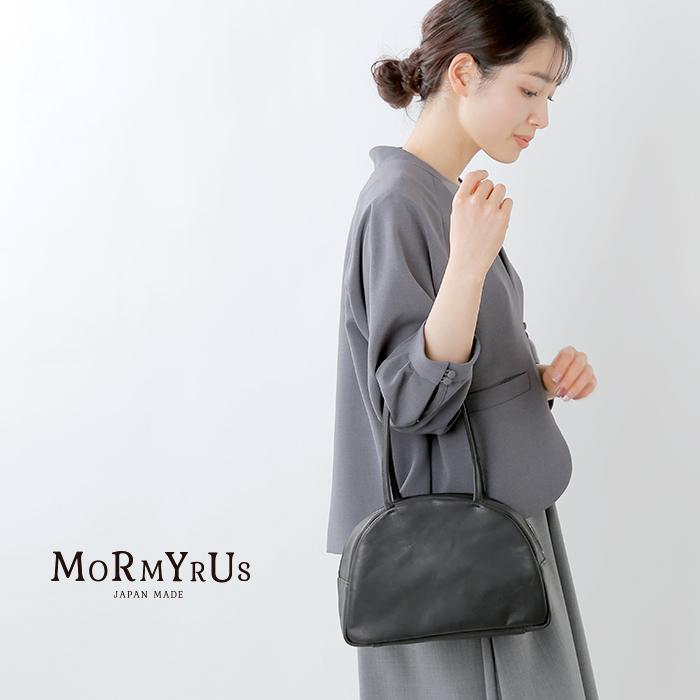 mormyrus(モルミルス)プレスドルースターレザー テリーヌバッグ m069