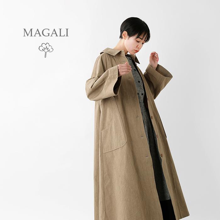 MAGALI(マガリ)コットンリネンウェザートレンチコートop149