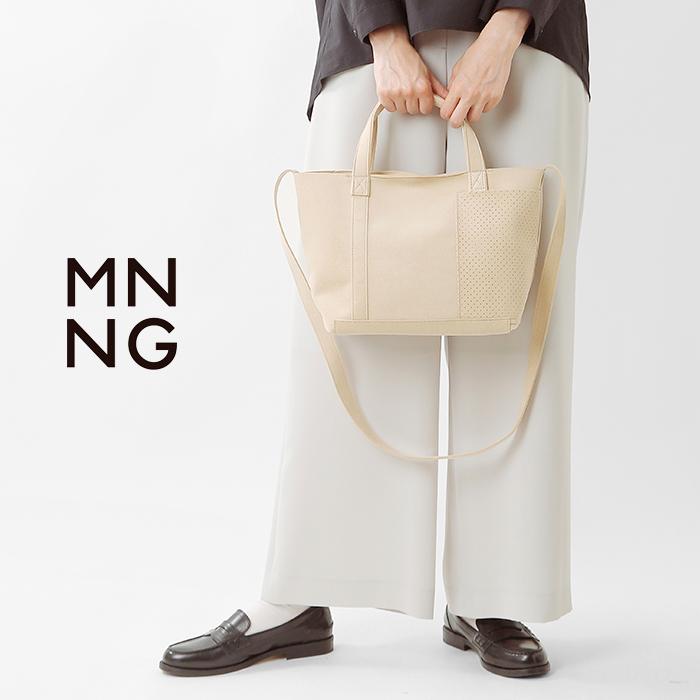 MNNG(エムエヌエヌジー)2wayウルトラスエードスタックミニトートバッグst3-us