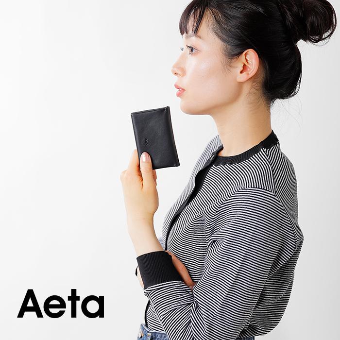 """Aeta(アエタ)カウレザーミニウォレット""""FULLGRAINACCESSORIES""""fg14"""
