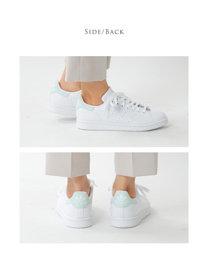 "adidas Originals(アディダス オリジナルス)レザーアッパースタンスミススニーカー""STAN SMITH W"" g58184-58186"