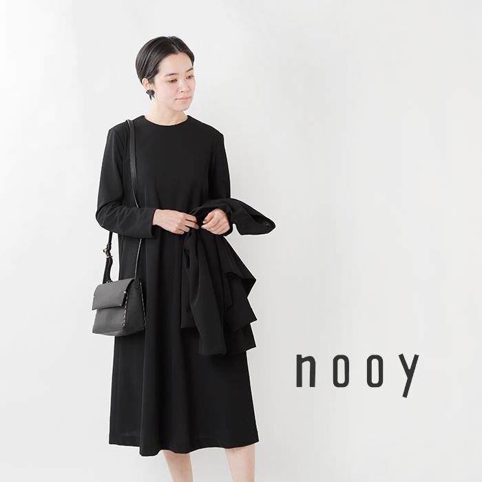 nooy(ヌーイ)接結ジョーゼットフロードレス nop06ss21