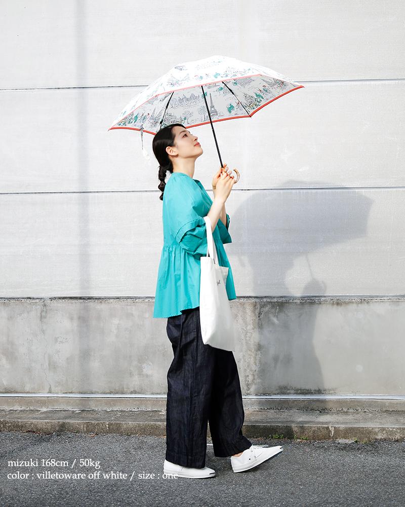 manipuri(マニプリ)UV加工晴雨兼用グラフィックプリント折りたたみ傘 print-umbrella