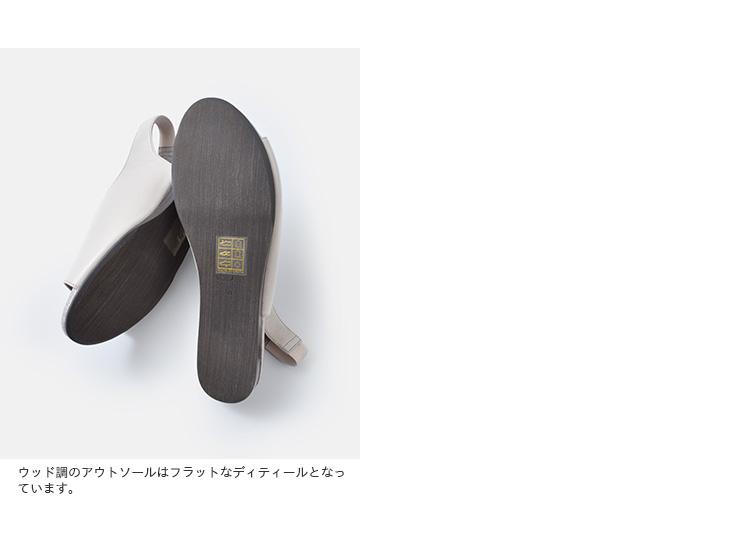 "volare(ヴォラーレ)ソフトカーフレザーVカットオープントゥーサンダル""SANDALVENOUS""sandal-venous"
