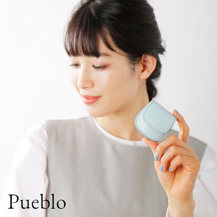 "Pueblo(プエブロ)イタリアンスムースレザーコインケース""SONIA"" sonia-9000"